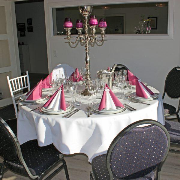 Rundt bord ø160 cm (8 pers.)