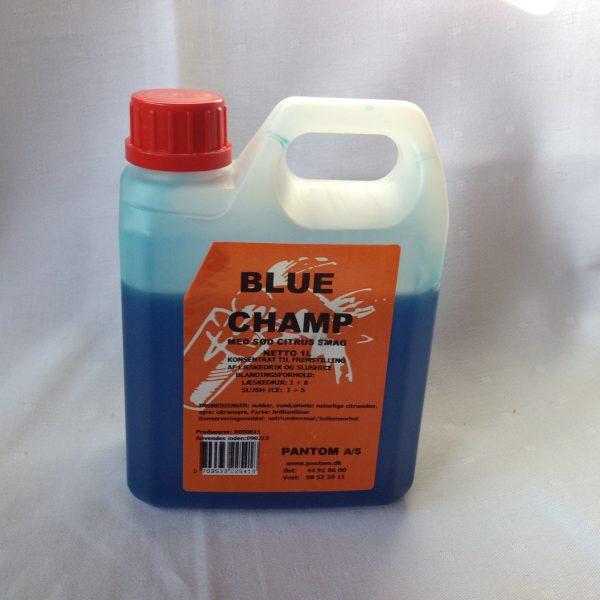 Slush Ice saft blå