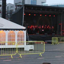 Vi udlejede telte til Aalborg havn og danmarks indsamling 2019