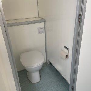 Toiletvogn m 7 toiletter