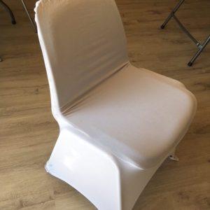 Universalt overtræk til stole - hvid
