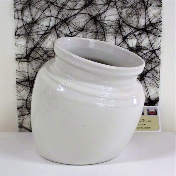 Hvid porcelæn udlejning