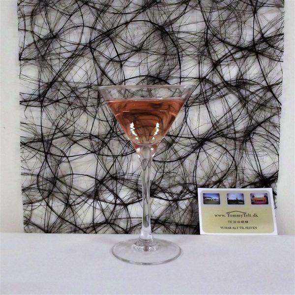 Cocktailglas velegnet til velkomstdrinks