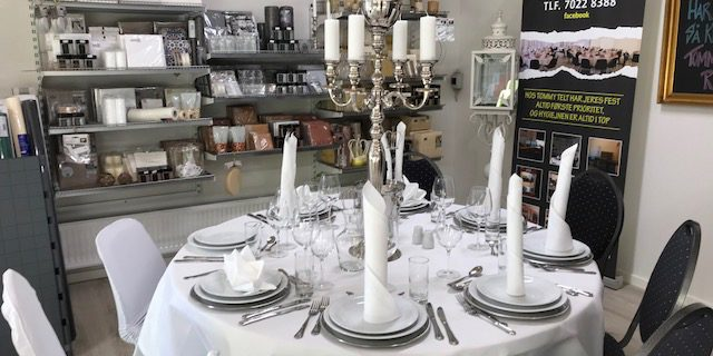 Butik og showroom i Aalborg